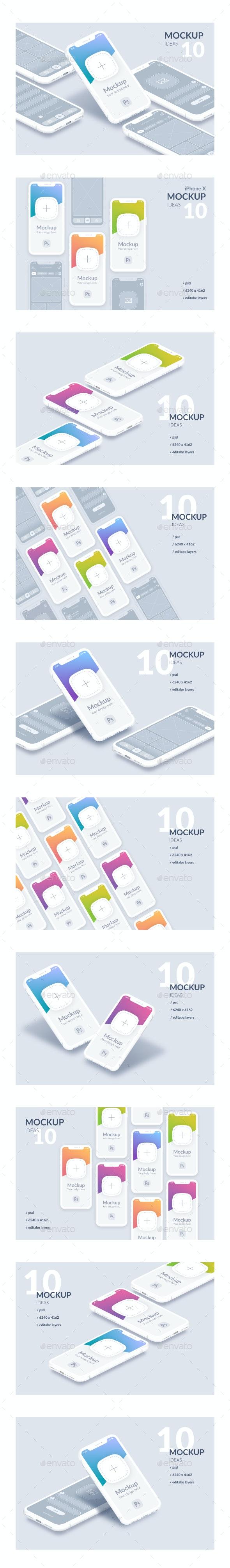 Mockup Mobile Device - Mobile Displays