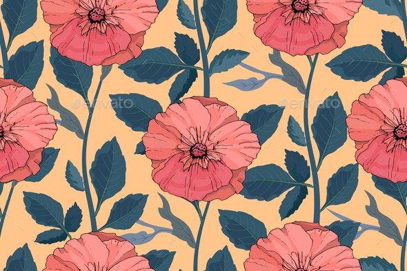 Floral Pattern - Miscellaneous Vectors