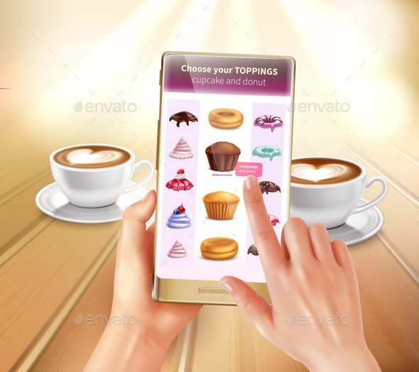 Cooking Augmented Reality - Food Objects