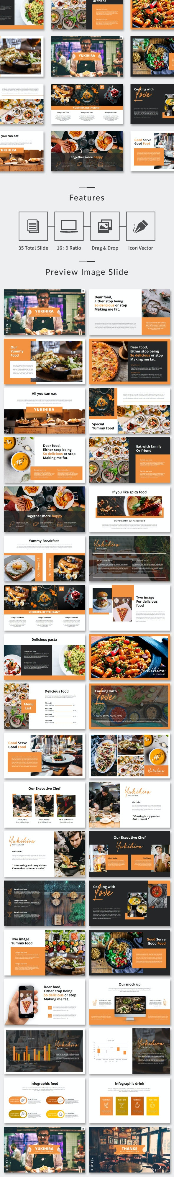 Food Presentation - PowerPoint - Business PowerPoint Templates