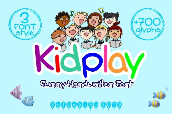 Kidplay - Hand-writing Script