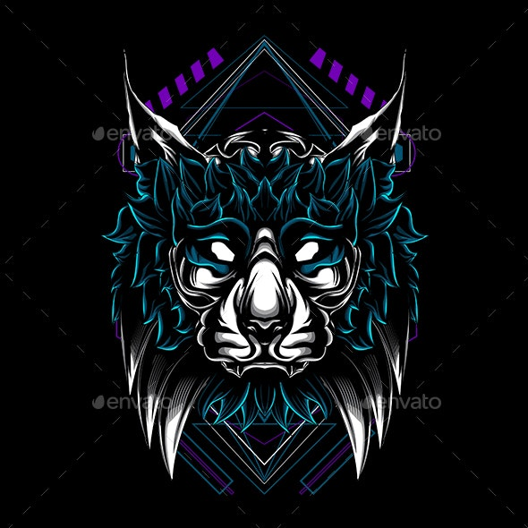 The Cat Sacred Geometry - Animals Characters