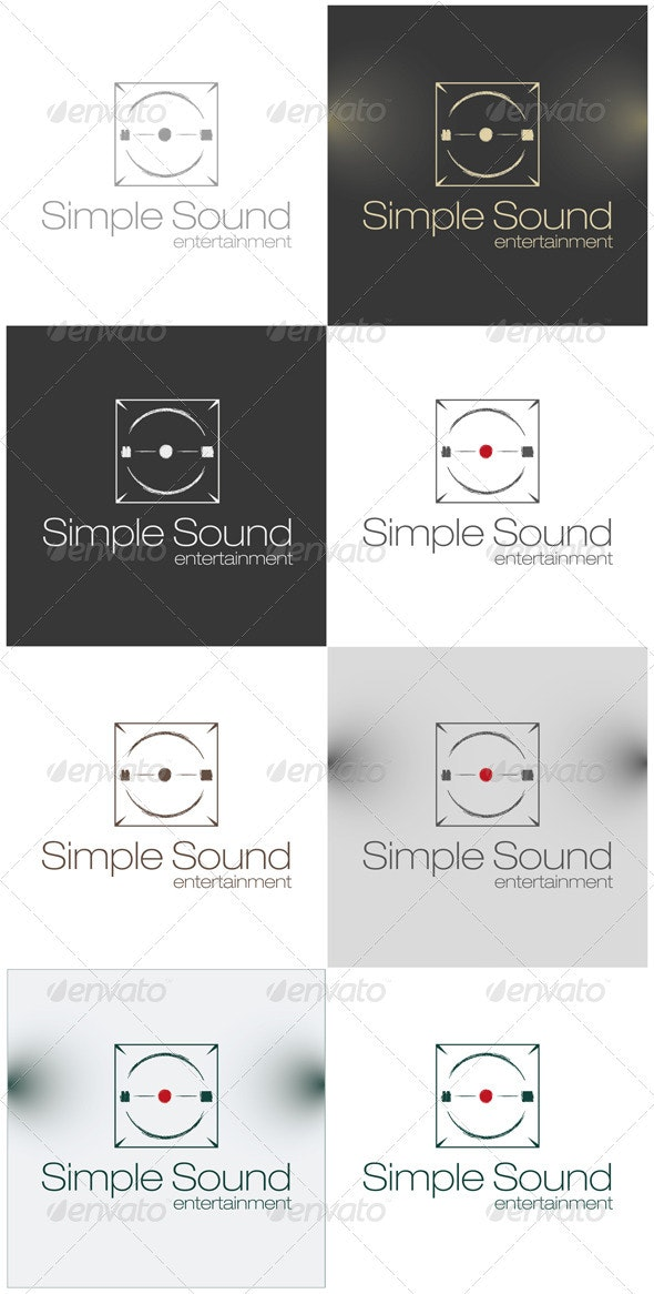 Simple Sound Entertainment Logo - Symbols Logo Templates