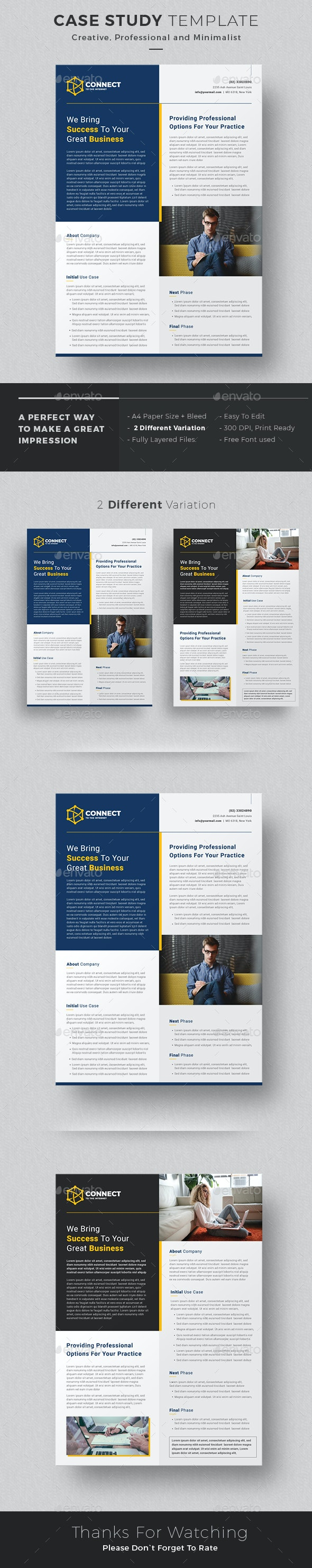 Case Study Flyer - Corporate Flyers