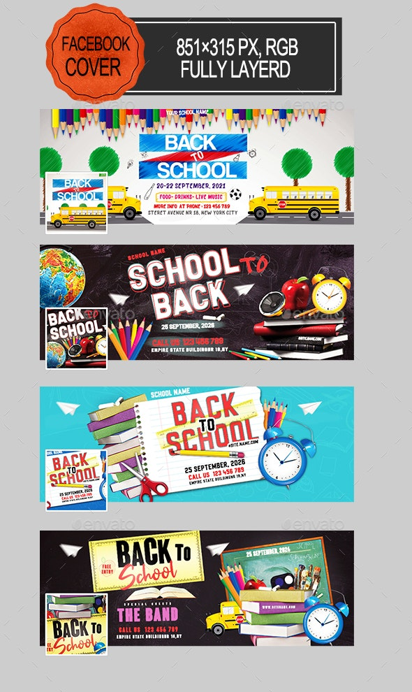 Back to School Facebook Covers - Facebook Timeline Covers Social Media