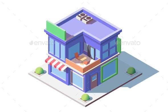 Family Store Building - Buildings Objects