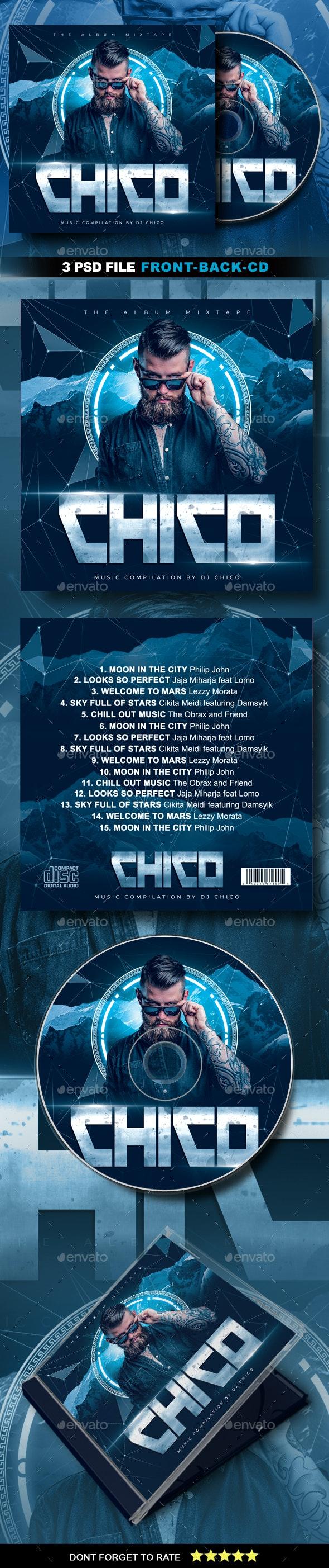 DJ CD Cover Artwork - CD & DVD Artwork Print Templates