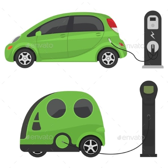 Fuel Alternative Vehicle Vector