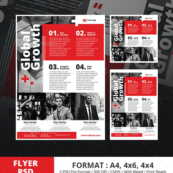 Swiss Style Business Conference Flyer