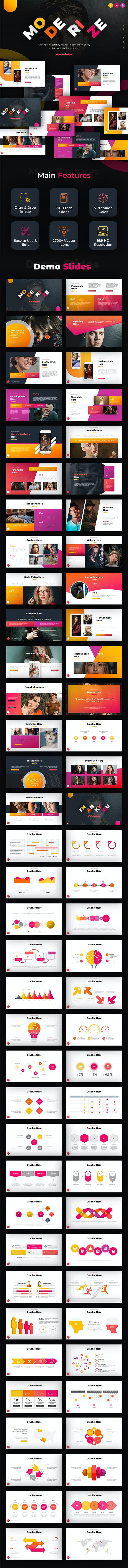 Moderize Creative Powerpoint - Creative PowerPoint Templates