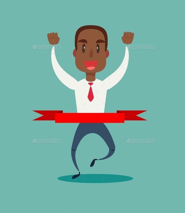 Concept of Successful Businessman - Business Conceptual