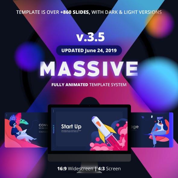 Massive X Presentation Template v.3.5
