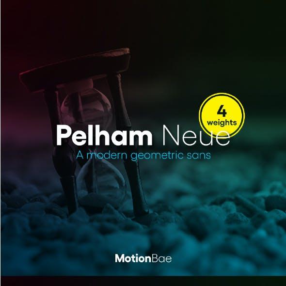 Pelham Neue Sans Serif Font