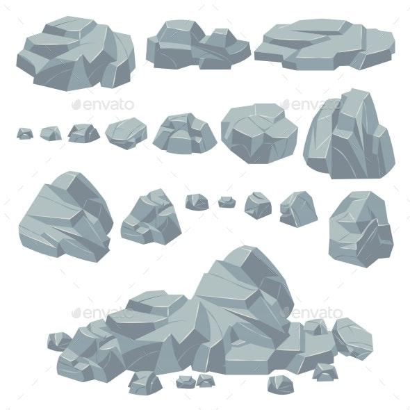 Rock Stones - Organic Objects Objects