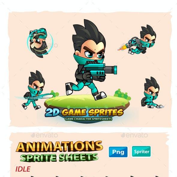 George 2D Game Sprites