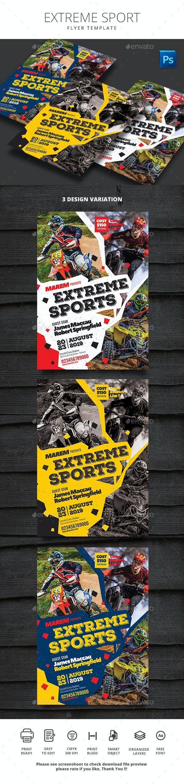 Extreme Sport - Sports Events