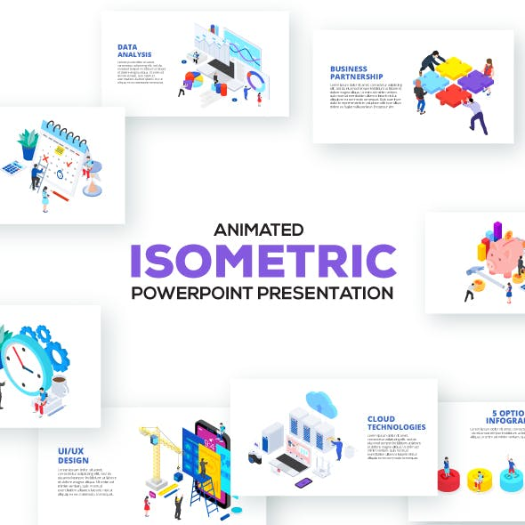 Isometric Powerpoint Presentations