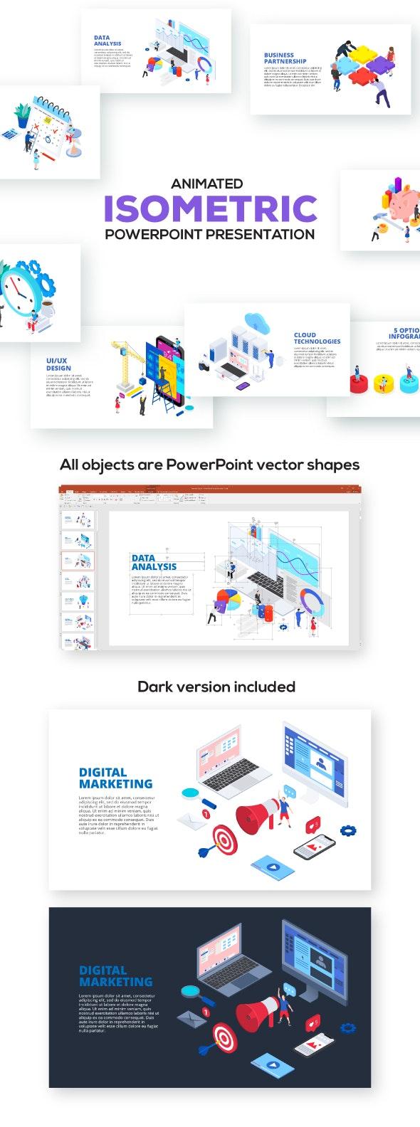 Isometric Powerpoint Presentations - PowerPoint Templates Presentation Templates