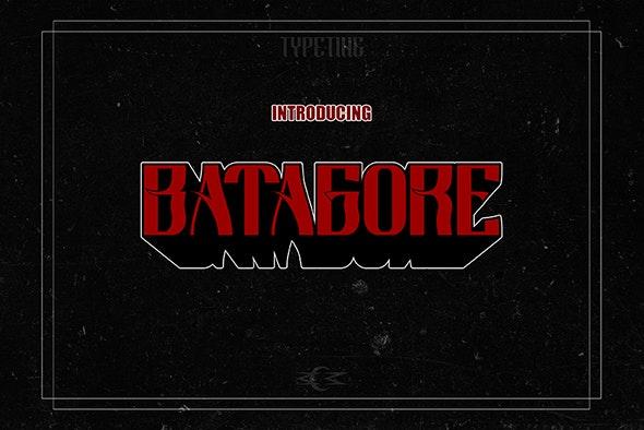 Batagore - Fonts