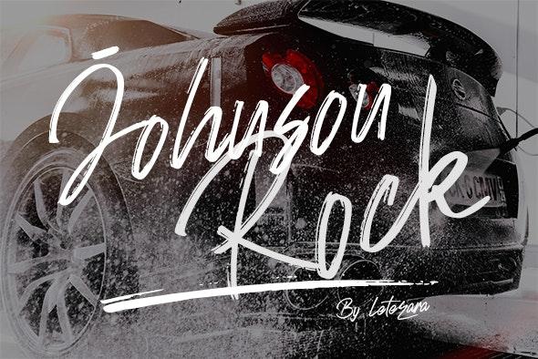 Johnson Rock - Hand-writing Script
