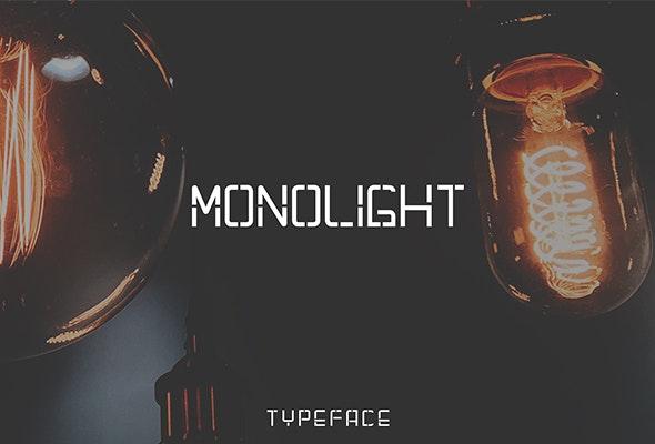 Monolight - Fonts