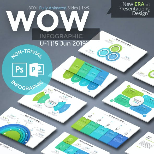 Wow Slides For Powerpoint. U-1 (180 New Slides!)