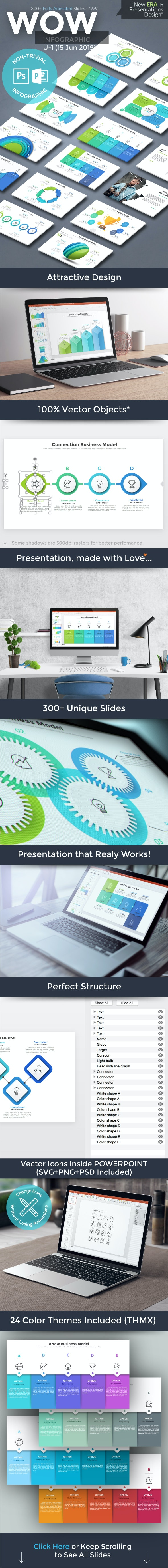 Wow Slides For Powerpoint. U-1 (180 New Slides!) - Business PowerPoint Templates