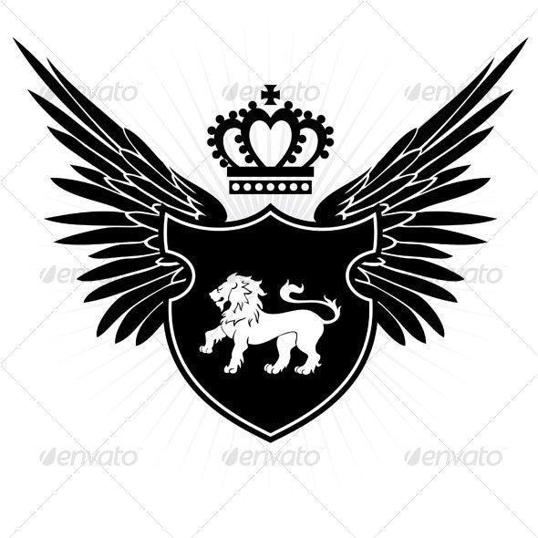 Lion crest - Animals Characters