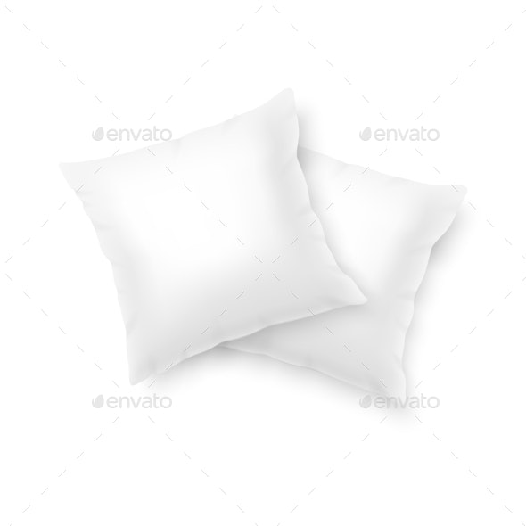 Vector Pillows - Man-made Objects Objects