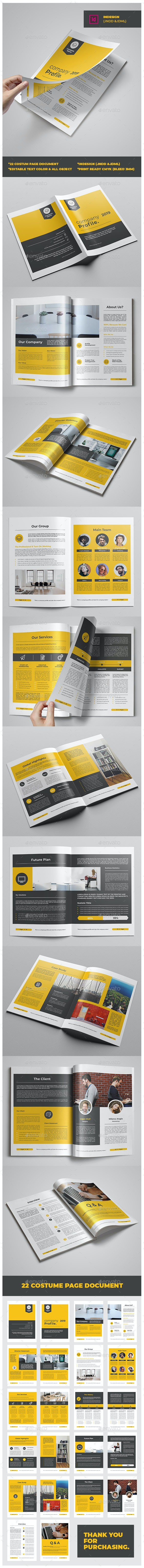 Company Profile Vol.5 - Corporate Brochures