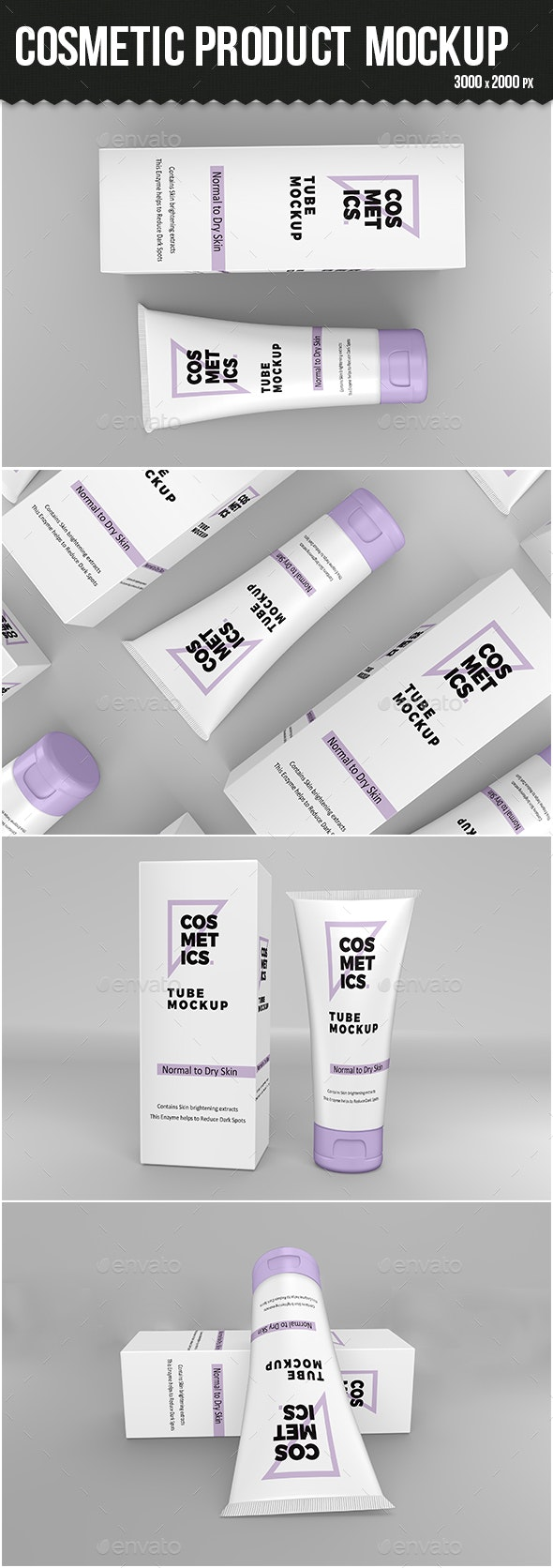 Cosmetic Products Mockup - Beauty Packaging