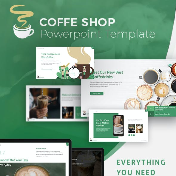 Coffe Shop Presentation Template