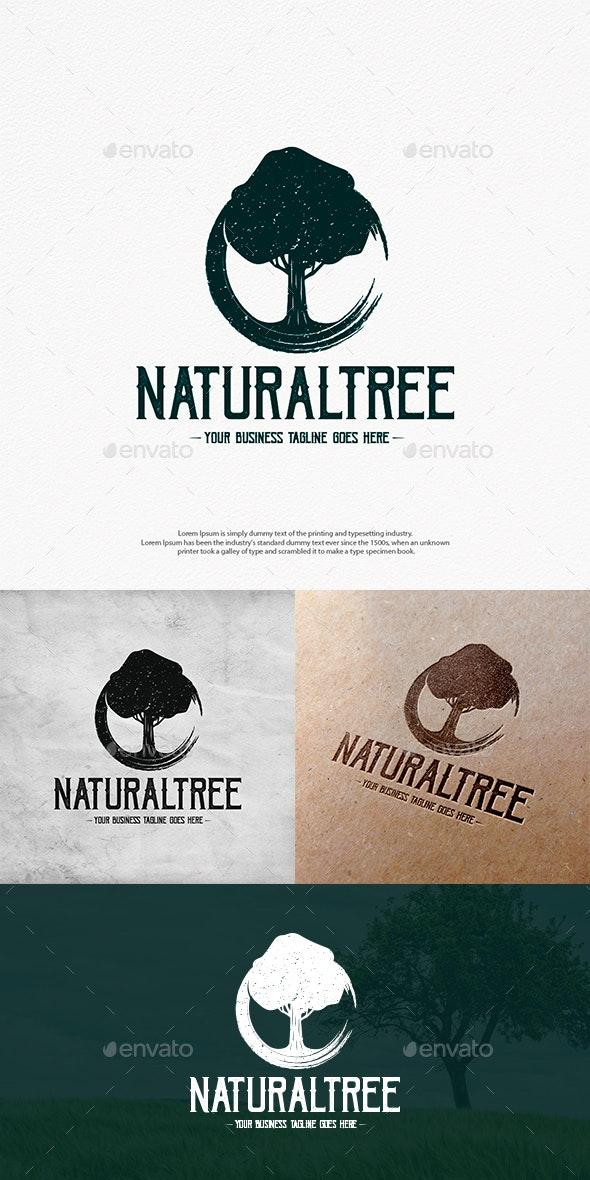 Natural Tree Logo Template - Nature Logo Templates