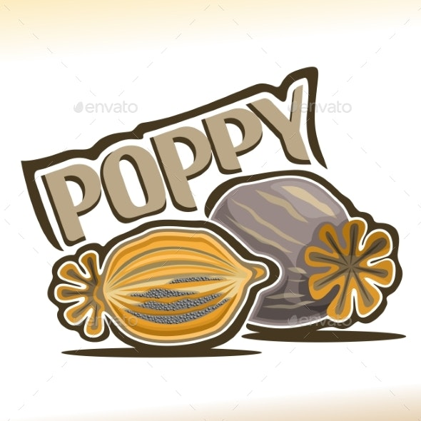 Vector Poppy - Food Objects