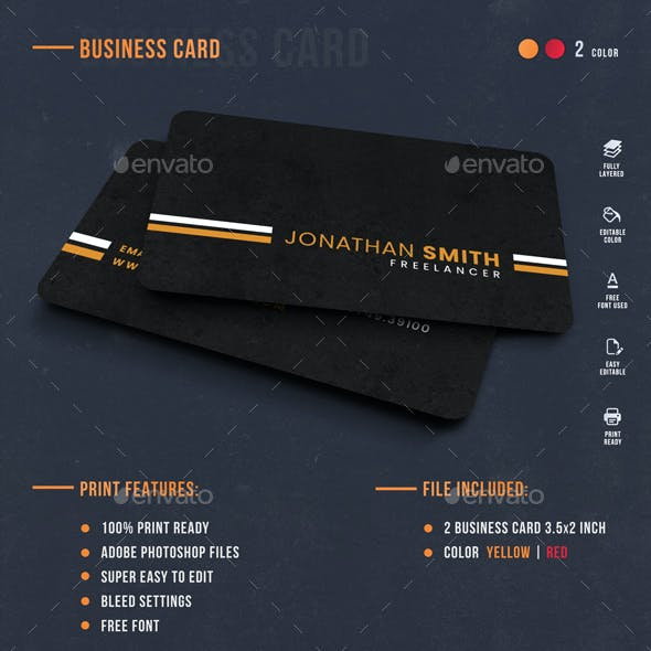 Freelancer Personal Card