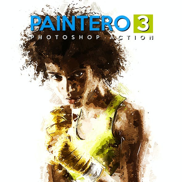 Paintero 3 - Photoshop Action