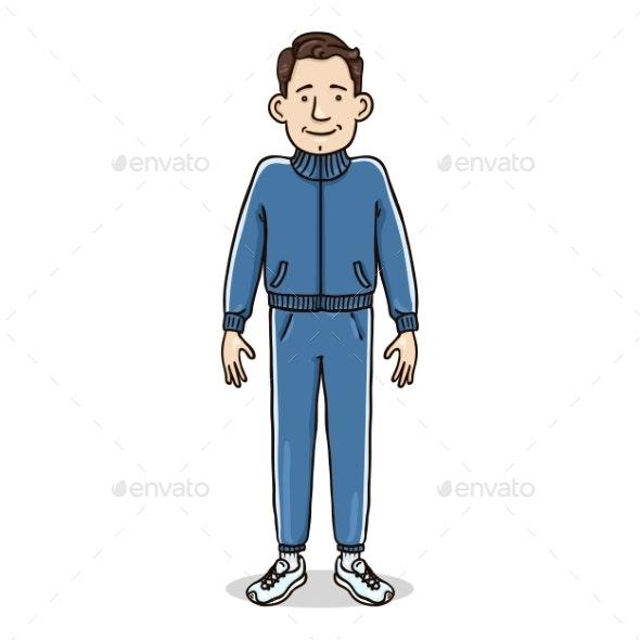 Vector Cartoon Character - People Characters