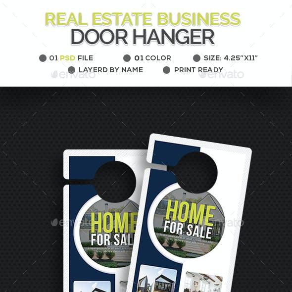 Real Estate Door Hanger