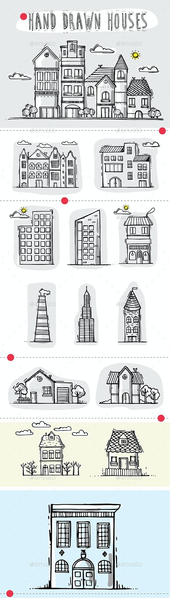Houses - Vectors