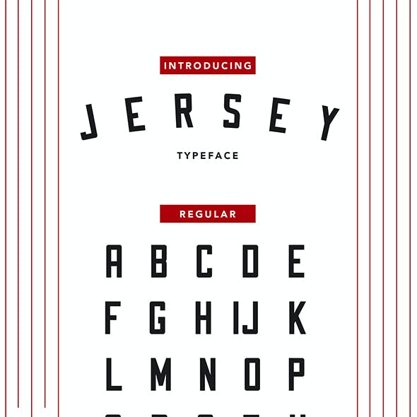 Jersey Typeface