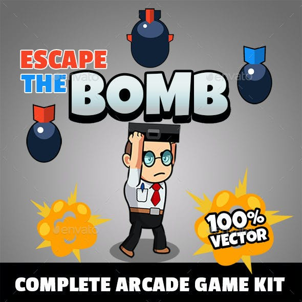 Escape The Bomb - Arcade Game Kit