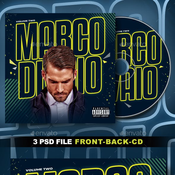 DJ CD Cover Artwork