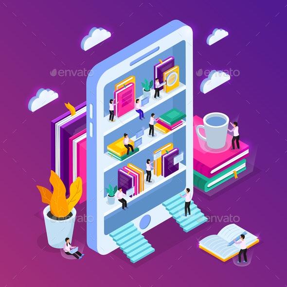 E-Library Smartphone Concept - Media Technology