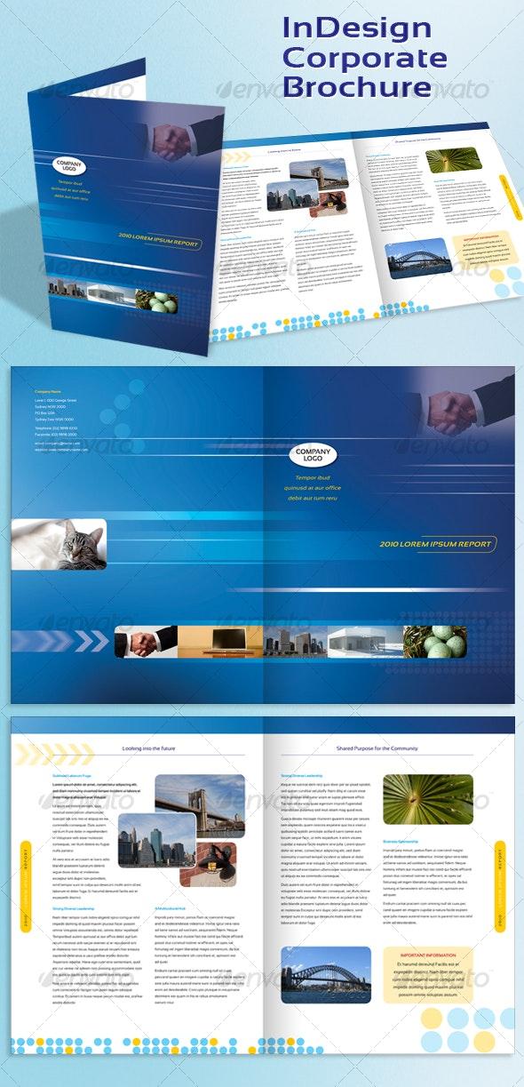 Corporate A4 Brochure Indesign Template - Corporate Brochures