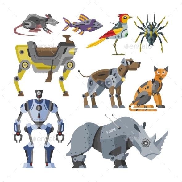 Cartoon Robotic Kids Toys - Computers Technology