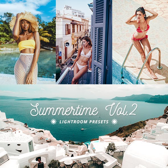16 Summertime Lightroom Presets Vol.2