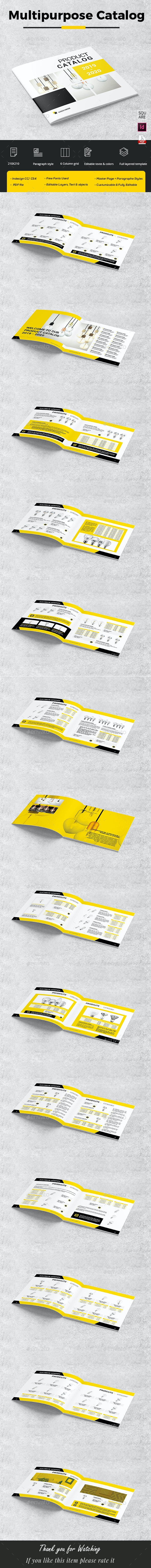 Catalog Products Square - Catalogs Brochures