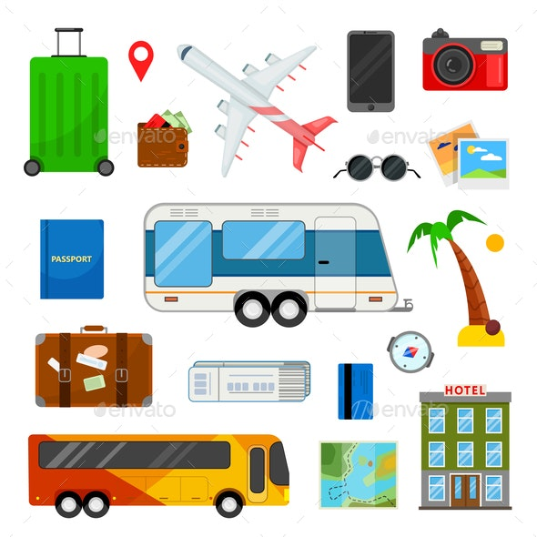 icons for travel - Travel Conceptual