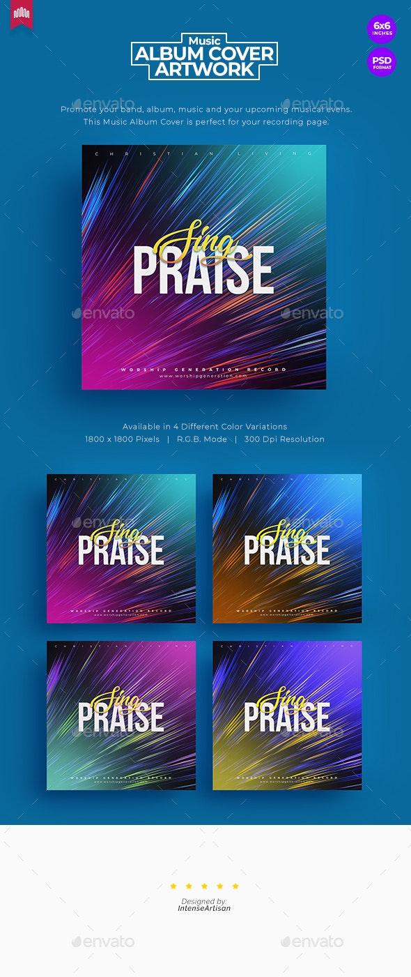 Sing Praise - Music Album Cover Artwork - Miscellaneous Social Media
