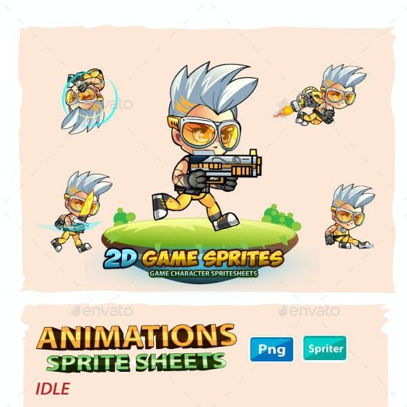 Jeeya 2D Game Sprites